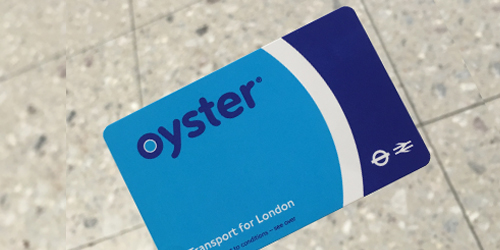 London - Peso Budget - Oyster Card