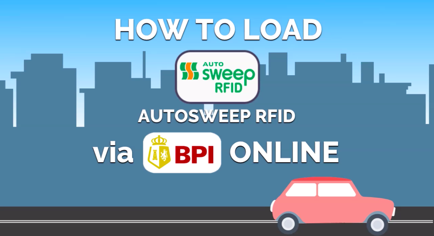 How to Load Your Autosweep RFID via BPI Online? - INVESTMNL